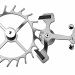 Coaxial traditionnal escapement